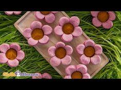 Savory flower tartlets - kid friendly recipe - YouTube