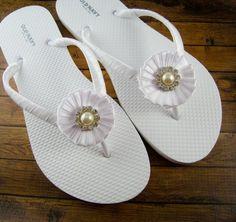 7395eb922c4512 Victoria Rhinestone Bridal Flip Flops