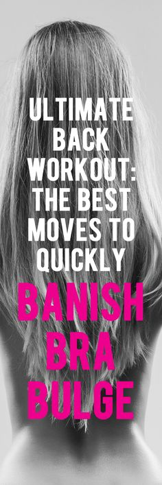 This is how you get rid of back fat. #backworkout #backexercise #brabulge…