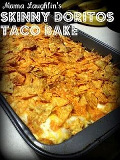 Skinny Doritos Taco Bake | REPINNED