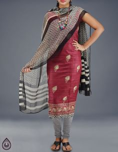 ef0068060c buy latest exclusive designer tussar silk salwar suits online, Unnati Silks