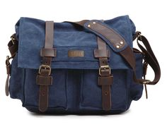 Amazon.com: CLELO Military Style Messenger Bag for Laptop 15 Inch Premium Quality: Computers & Accessories