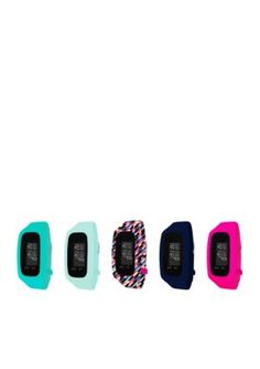 B Fit Watch Women's Women's Fitness Tracker Watch & Mint 5-Piece Interchangeable Straps Boxed Set - Open Miscellaneous - One Size