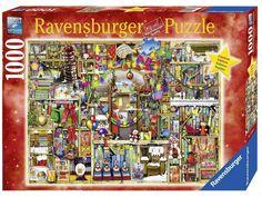 Ravensburger Santa's Final Preparations Christmas Puzzle 1000 Psc 19561 Limited #Ravensburger