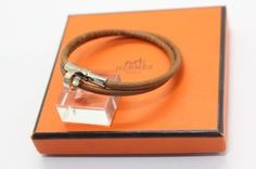 Authentic Hermes Leather Bracelet Bangle . Get the lowest price on Authentic Hermes Leather Bracelet Bangle  and other fabulous designer clothing and accessories! Shop Tradesy now
