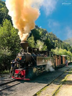 Octavian Serban: Mocanita de pe Valea Vaserului... Felder, Moldova, Steam Locomotive, Train Tracks, Homeland, Romania, Adventure Travel, Trains, Indie