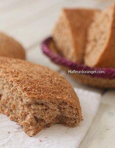 Ma fleur d'oranger - Comment faire du pain complet maison