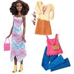Barbie® Fashionistas™ 45 Boho Fringe Doll & Fashions - Tall - Shop.Mattel.com