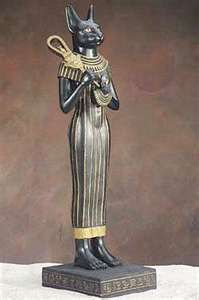 Bastet with sistrum