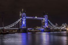 Tower bridge by night by Family-Man. @go4fotos