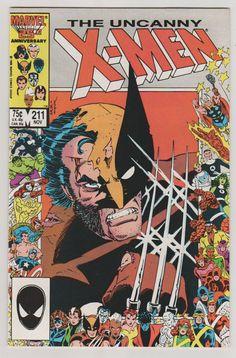 Uncanny XMen V1 211. NM November 1986. by RubbersuitStudios #comicbooks #xmen #chrisclaremont