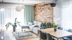 Urban Industrial Decor Tips From The Pros Have you been thinking about making changes to your home? Are you looking at hiring an interior designer to help you? Living Room Kitchen, Home Living Room, Apartment Living, Living Room Designs, Living Room Decor, Living Spaces, Apartment Design, House Design, Interior Design
