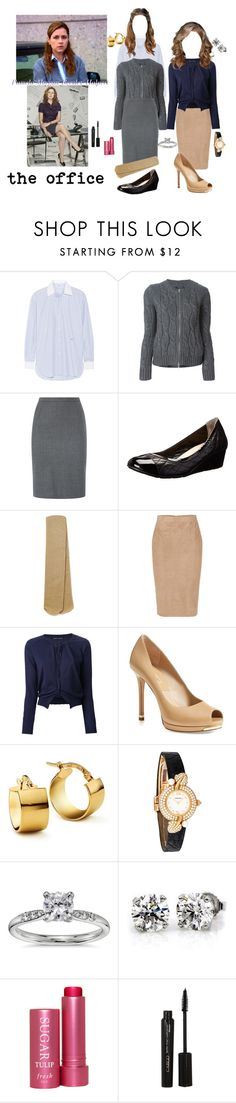 """""""Pam"""" by lala0386 ❤ liked on Polyvore featuring PAM, Current/Elliott, Woolrich, Aquascutum, Cole Haan, Monsoon, Emilio Pucci, Aida Barni, Michael Kors and Blue Nile"""