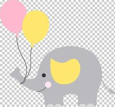Baby shower elephant , babyshower, gray elephant with balloon graphics illustration png clipart Baby Shower Balloons, Baby Shower Favors, Baby Shower Cakes, Grey Elephant, Elephant Nursery, Wallpaper Crafts, Baby Applique, Baby Posters, Disney Princess Birthday