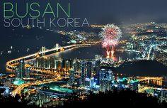Busan South Korea.