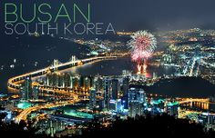 Busan South Korea.