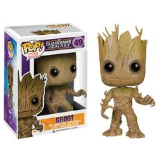 Guardians Of The Galaxy Pop! Vinyl Figure - Groot : Pre-order now at ForbiddenPlanet.co.uk!