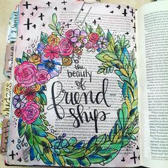 Bible Journaling by Christina Lowery @christinasalive | 1 Samuel 19-20
