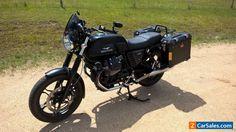 2014 Moto Guzzi V7 Stone Motor Bike #motoguzzi #v7stone #forsale #australia