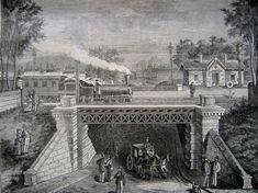 Ilyen is volt Budapest - Aréna (Dózsa György) út, a vasúti felüljáró History Photos, Budapest Hungary, Old Photos, Arch, Louvre, Country, City, Building, Landscapes