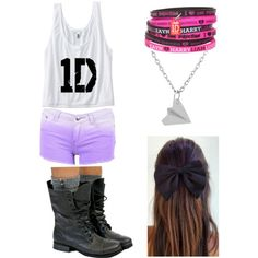 One direction concert:) by lisbeth1d, via Polyvore