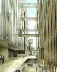 RCR Arquitectes. Edificio Judicial, Audiencia de Barcelona.