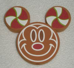 Disney Mickey Mouse Gingerbread Holiday Car Antenna Topper