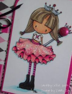 Tiddly Inks every day princess Glittery Pink!