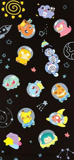 Cute Pokemon Wallpaper, Cute Patterns Wallpaper, Cute Anime Wallpaper, Cute Cartoon Wallpapers, Animes Wallpapers, Iphone Wallpaper, Eevee Pokemon, All Pokemon, Pokemon Fan