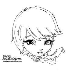 Short Hair by JadeDragonne