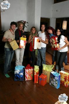 Photoshoot de Natal - HQ EXCLUSIVA! - RBD Fotos Rebelde | Maite Perroni, Alfonso Herrera, Christian Chávez, Anahí, Christopher Uckermann e D...