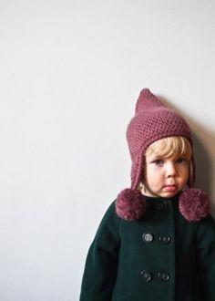 33 new Ideas for crochet hat pom pom purl soho Crochet Beanie Pattern, Afghan Crochet Patterns, Crochet Stitches, Crochet Afghans, Knitting Patterns, All Free Crochet, Diy Crochet, Crochet Baby, Crochet Ideas