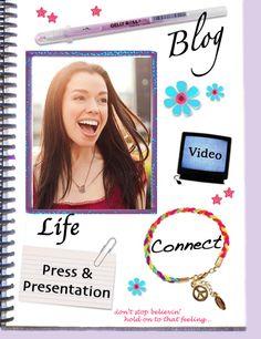 Susane Colasanti Life, Blog, Video, Connect, Press & Presentation