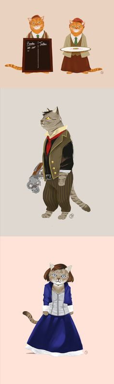 How do you think BioShock Infinite would play out, if everyone was actually a feline?