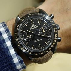 19ff1cacc18 Check out this new Omega Dark Side of the Moon Vintage Black. Relógios  Preto
