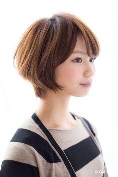 大人可愛いNO.1愛されショート☆ | GARDEN HAIR CATALOG | 原宿 表参道 銀座 美容室 ヘアサロン ガーデン
