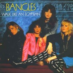 Billboard 1987 Year end chart #1 Walk Like An Egyptian - Bangles -