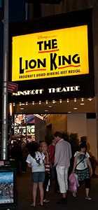 The Lion King on Broadway: Show Times and Tickets