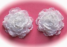 SIMPLY PAPER: Lace Rose - Flower Tutorial