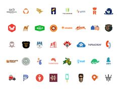 40 Logos in Logo Lounge Book 9! by Type08 (Alen Pavlovic) - Dribbble