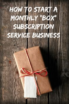 "Interview with a #wahm on how she started a monthly ""box"" subscription service. #homebusiness"