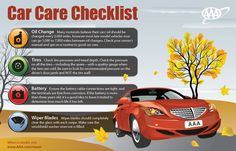 It's Officially Fall! Kick off the season right by making sure your car is ready for the cooler weather.