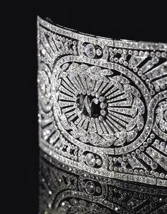 Cartier-Diamond Art Deco Brooch