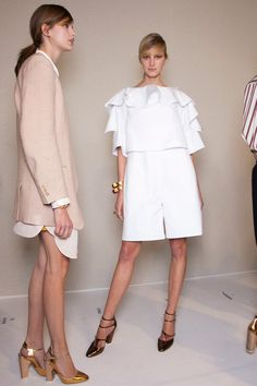 Chloé at Paris Fashion Week Spring 2013