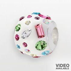 Individuality Beads Sterling Silver Crystal Bead #Pandora #Chamilia
