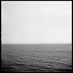 """Javiera Estrada; Black & White 2013 """"Cielo y Mar #3 of 7"""""""