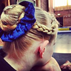 braid updo # cute Braids for softball # cute Braids for dance Softball Hairstyles, Dance Hairstyles, 2015 Hairstyles, Messy Hairstyles, Gymnastics Hairstyles, Gymnastics Meet Hair, Softball Braids, Competition Hair, Blonde Braids