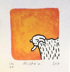 Mista'n, Gunilla Holm Platou, Litografi