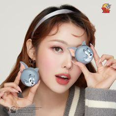 ETUDE HOUSE has released a huge makeup collection called 'Lucky Together' in cooperation with Warner Brothers' Tom and Jerry. Etude House, Primers, Blushes, Ulzzang Makeup Tutorial, Tom E Jerry, Pony Effect, Collagen Skin Care, Pony Makeup, Makeup Collection