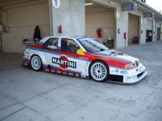racecarsdirect.com (Race Cars For Sale) » ALFA ROMEO DTM 155 V6 TI MARTINI